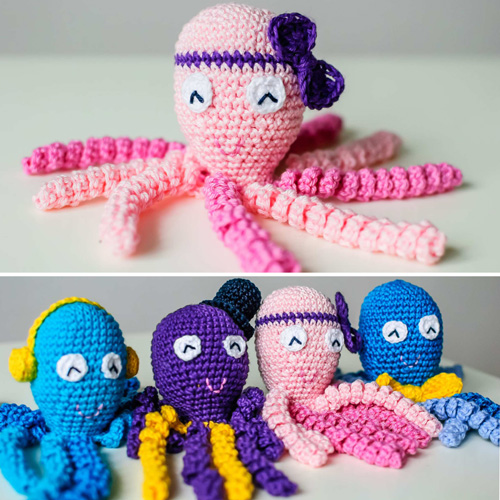 Crochet For Children: Octopus Baby Toy - Free Pattern