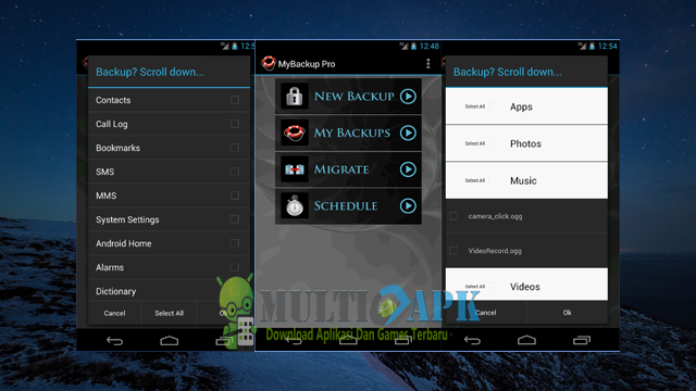 Aplikasi My Backup Pro v4.5.0 Apk Android Terbaru
