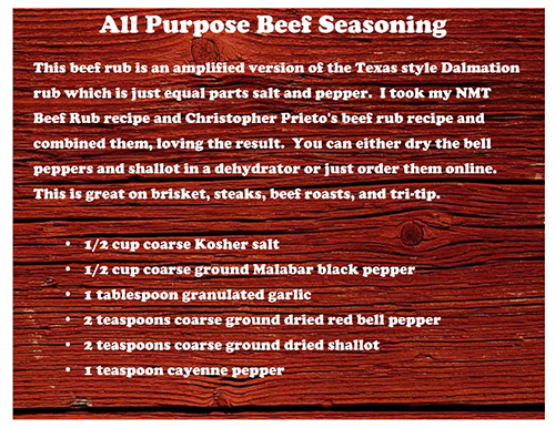 Nibble Me This Beef Rub Recipe
