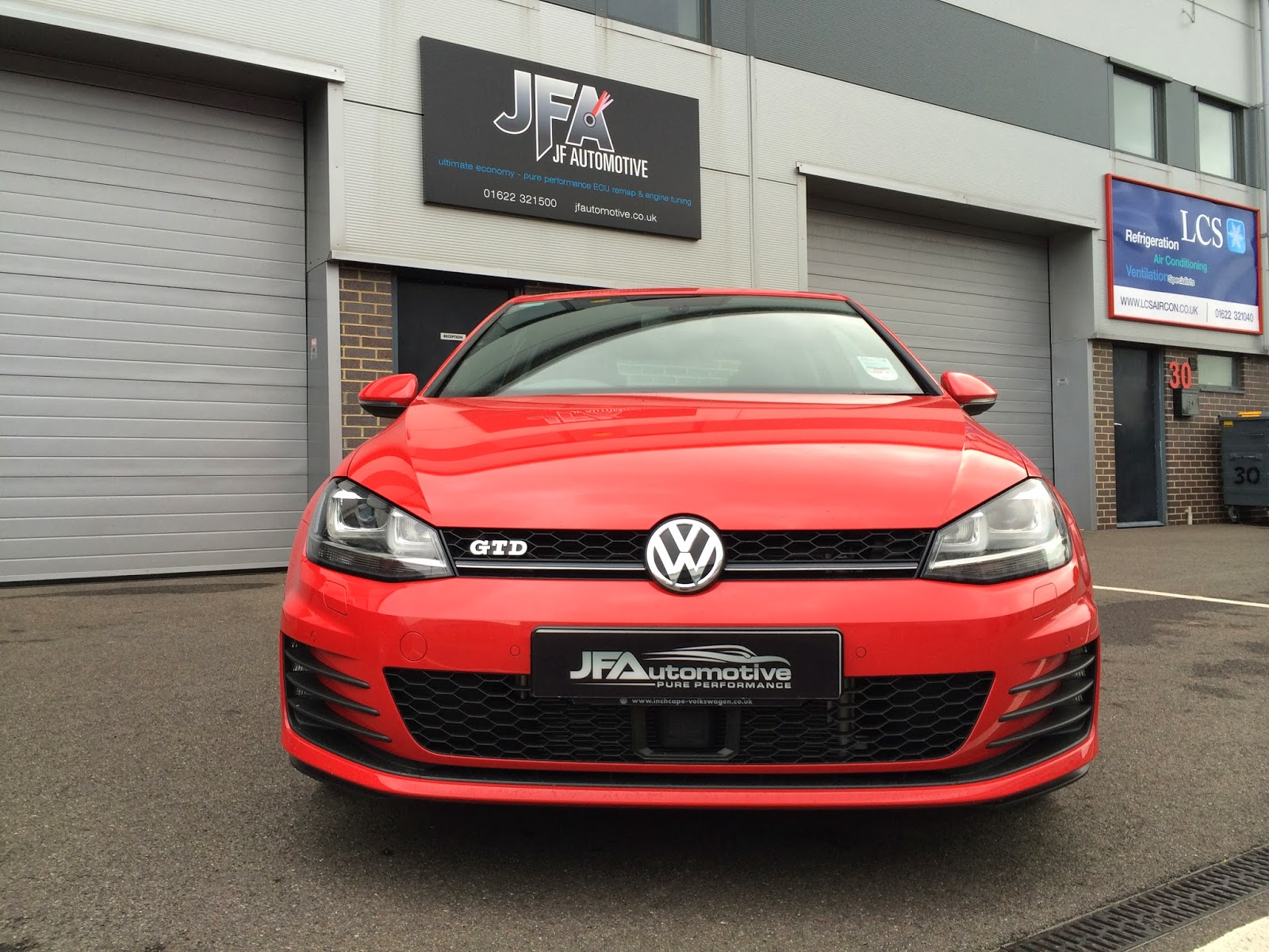 jf automotive engine gearbox tuning remapping news vw golf mk7 gt gtd ecu remapping