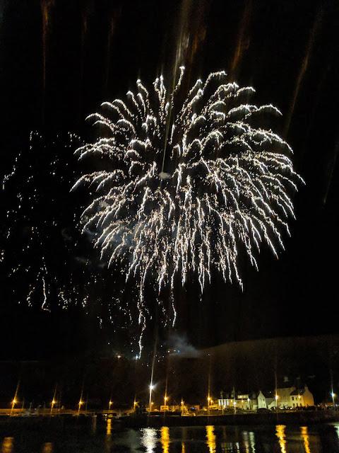 Stonehaven New Year Fireworks Fireballs