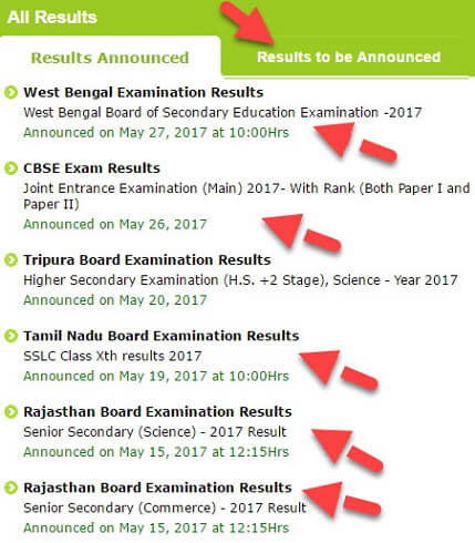 check-exam-result
