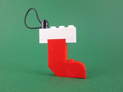 MOC LEGO Decoração para a Árvore de Natal