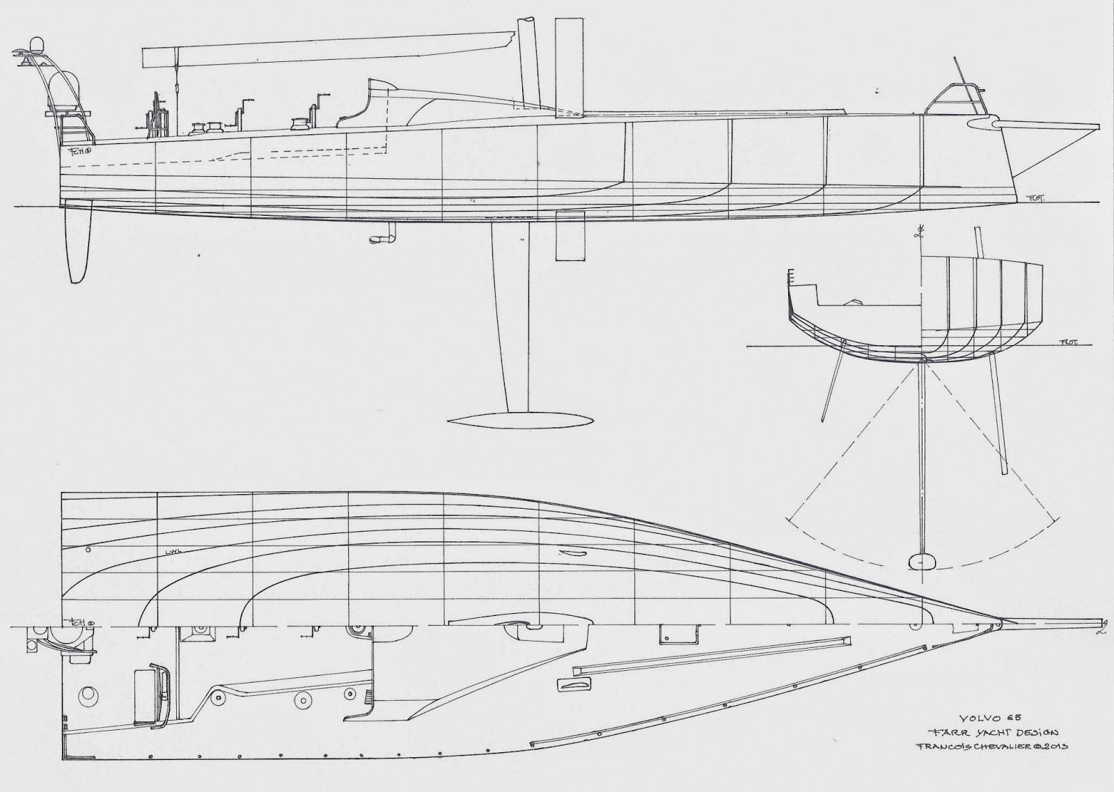 hight resolution of chevalier taglang volvo ocean race drawings and design evolution groasis waterboxx diagram racing yacht diagram
