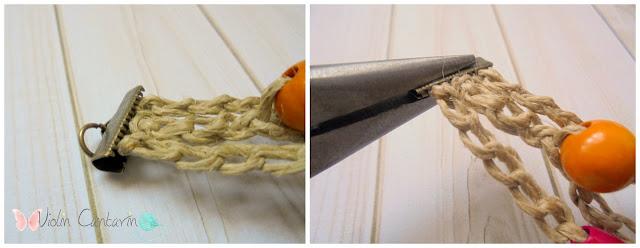 aprende a tejer, puntos básicos de crochet, puntos básicos de ganchillo, nudo inicial, nudo corredizo, nudo deslizado, cadeneta, slop knot, chain stitch, tutorial pulsera, brazalete, tejer con cuentas, DIY, craft, complementos ganchillo, tejer fácil, violin cantarin, violín cantarín