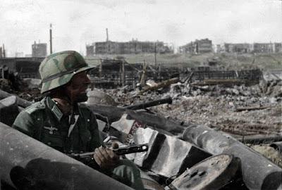 La batalla de Stalingrado en fotografías a color