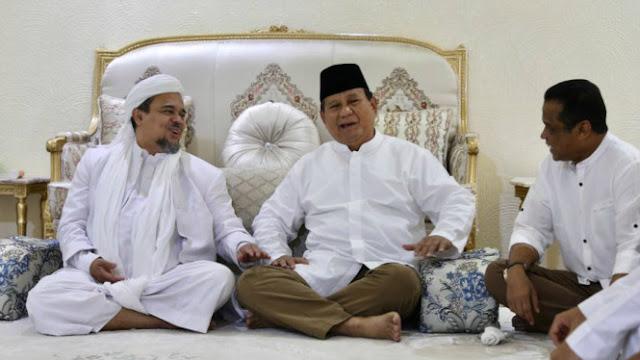 HRS Sudah Restui Ustaz Abdul Somad dan Habib Salim Cawapres Prabowo