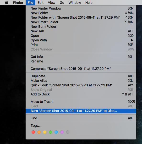 The Mac Guy: Quick Tip for Burning DVD's in 10 11 El Capitan