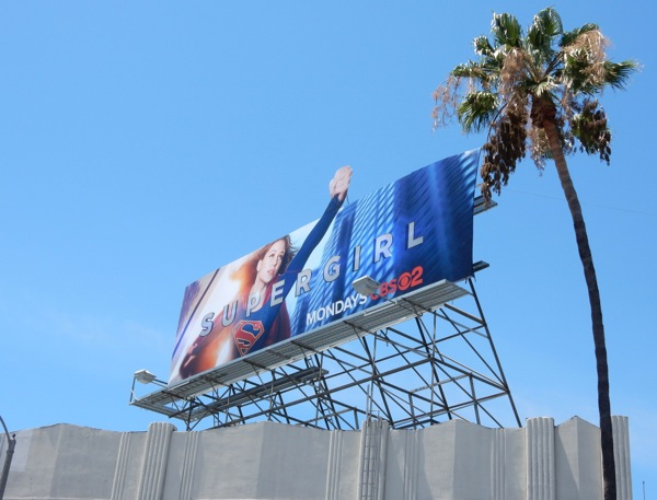 Supergirl CBS series billboard