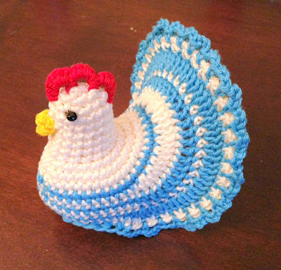 Easter Chick & Chicken Crochet Pattern Roundup! - AmVaBe Crochet   385x400