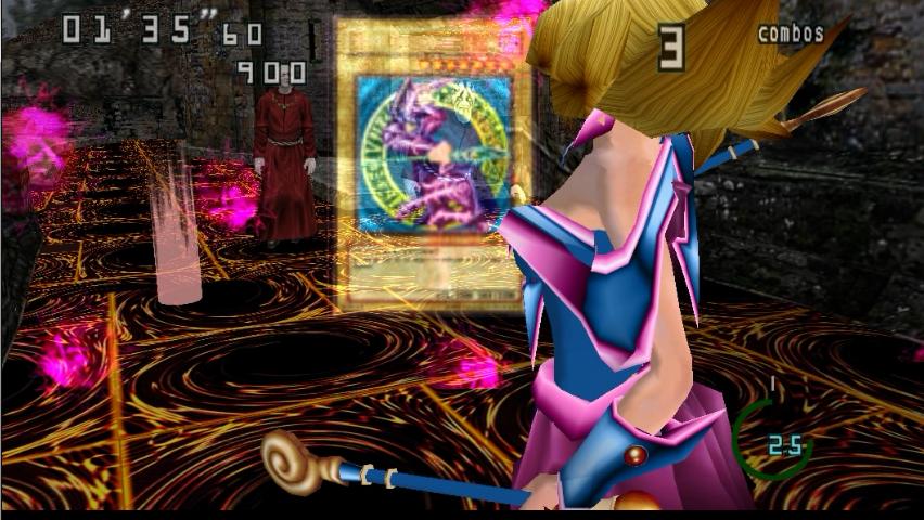 Dark Magician Girl [ Arkana ] YuGiOh  MagaOscura_2