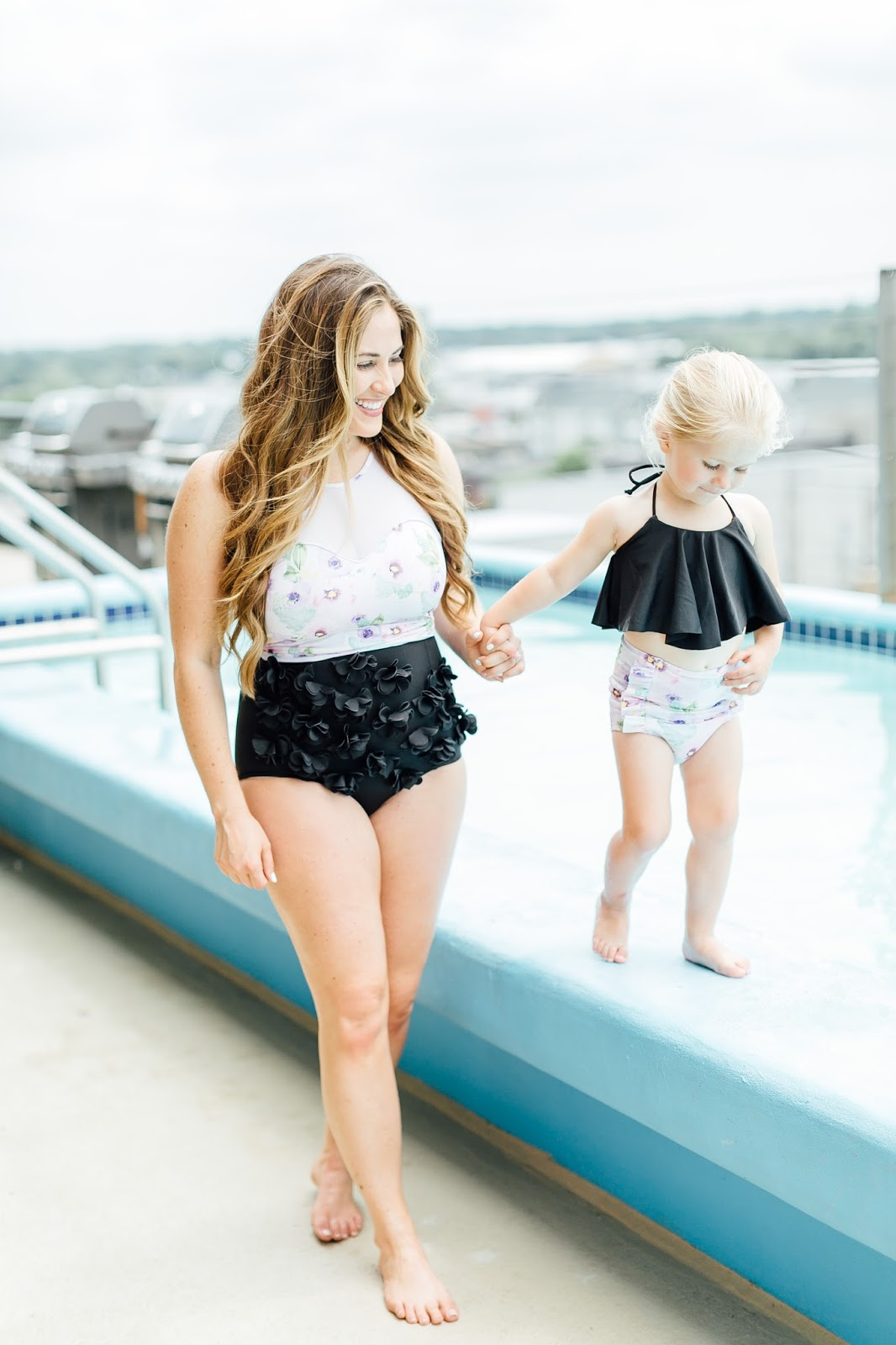 Trend Spin Linkup - Kortni Jeans Swimwear Giveaway by fashion blogger Laura of Walking in Memphis in High Heels