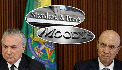 Sem Previdência e com incerteza política, S&P rebaixa a nota do Brasil
