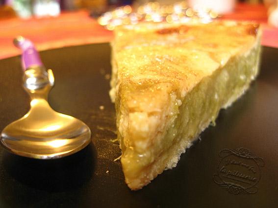 Recette de dessert tarte à la rhubarbe