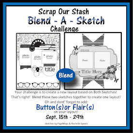 September 2018 Blend A Sketch Challenge