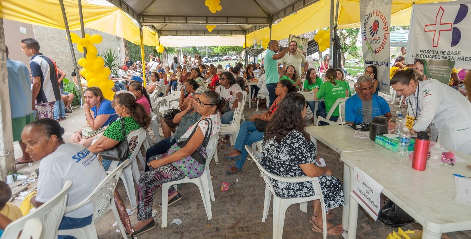 expressaounica sas atende mais de 800 pessoas no mutirão para