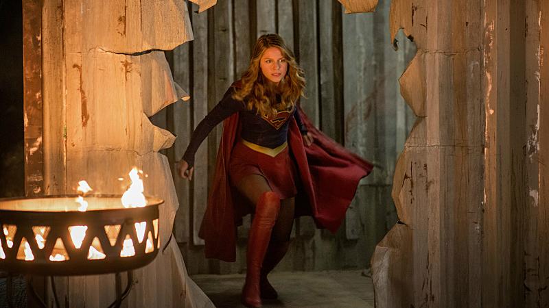 Melissa Benoist Supergirl 2x04 S02E04 Survivors