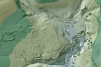 Lasers reveal Britain's 'lost' Roman roads
