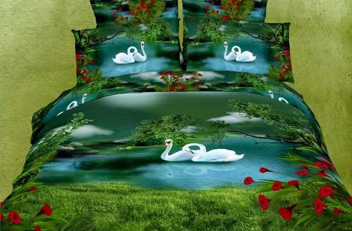 3D Bed Linens 2