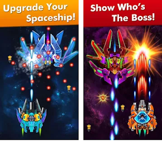 Galaxy Attack: Alien Shooter Apk Mod v6.03 Infinite Money For Android