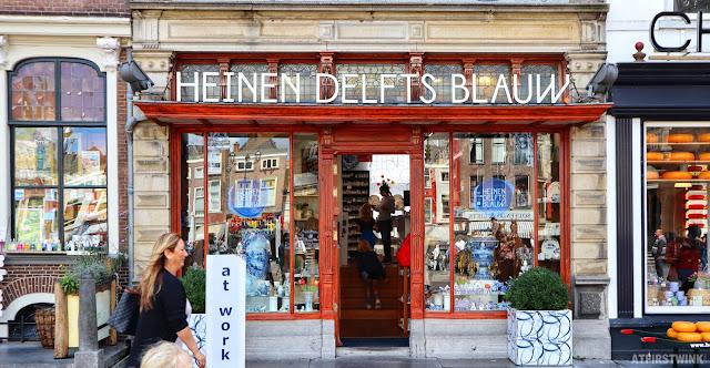 Heinen Delfts Blauw store in Delft