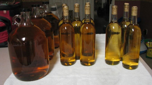 HIDROMIEL Y VINAGRE DE MIEL -  MEAD AND HONEY VINEGAR