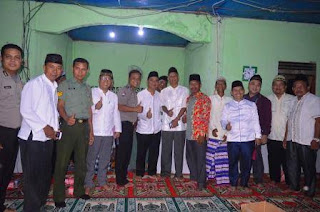 Asisten II Pemkab OI Safari Ramadhan di Desa Sungai Ondok