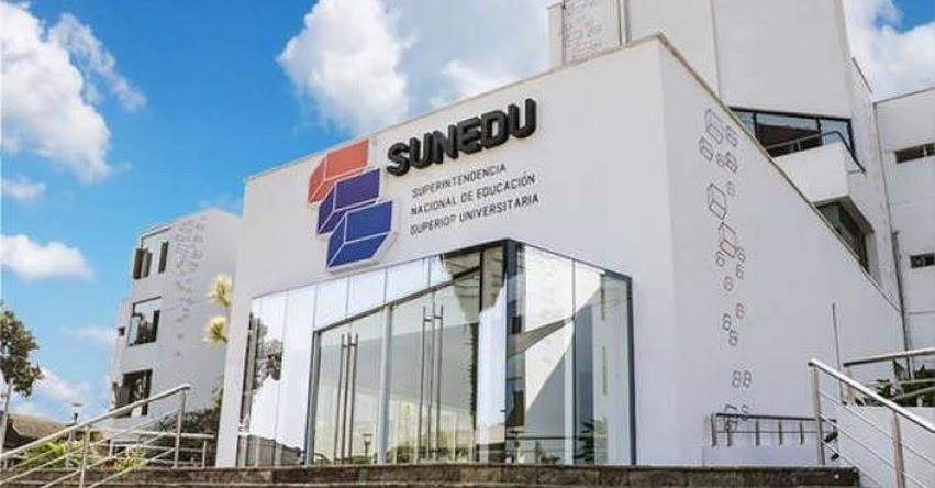 SUNEDU: «Si Universidad de Lambayeque no corrigió en dos años, no lo hará en 15 días» www.sunedu.gob.pe