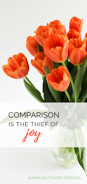 Comparison is the thief of joy | Shannon Fraser Designs | Modern Quilter