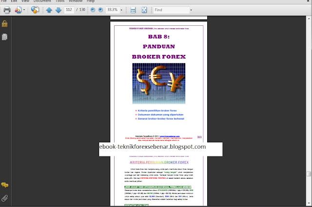 Teknik forex sebenar pdf download