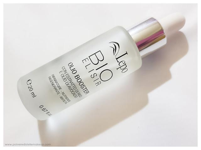 BioElisir Olio Booster Lepo packaging