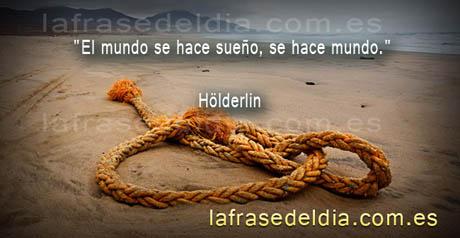 Citas de Hölderlin, el sueño y la realidad