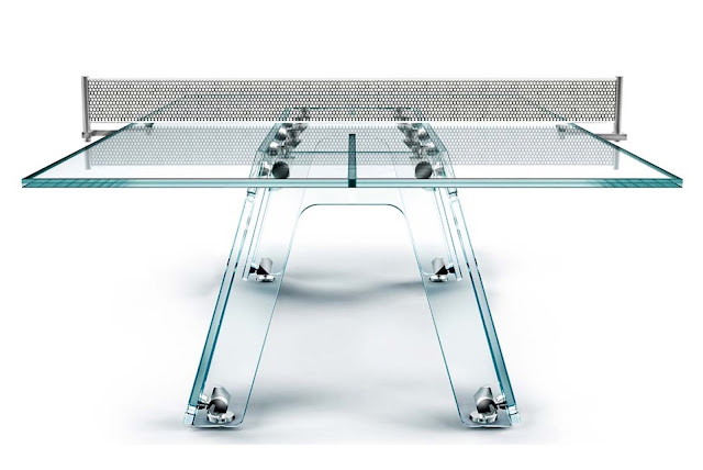 Lungolinea ping-pong table by Adrino Design