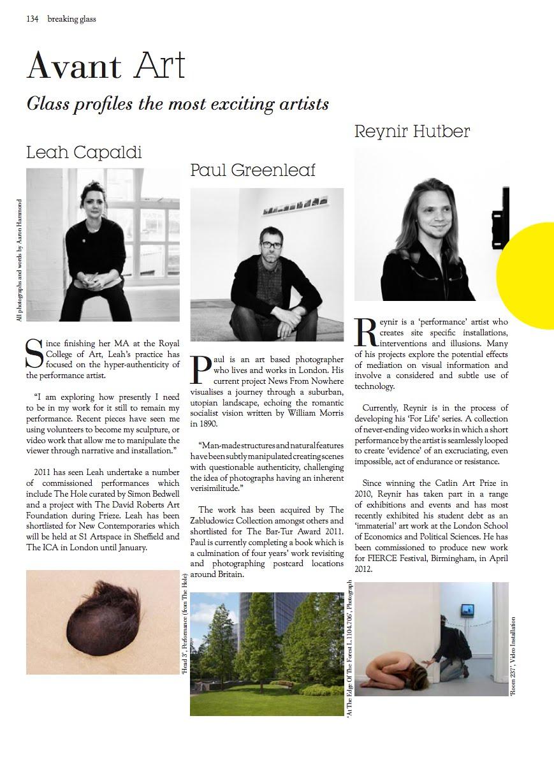 The London Magazine October/November 2011