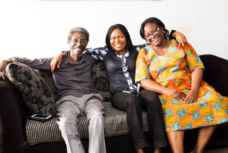 Actor Sadiq Daba Returns Healthier From UK Medical Treatment (Photos)