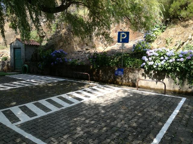 Local de estacionamento para deficientes