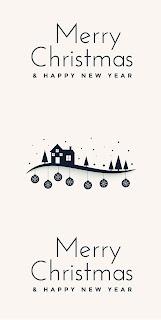 Free Download Poster Ucapan Hari natal dan Tahun Baru