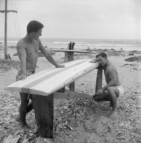 old photos of life with beach bums at san onofre