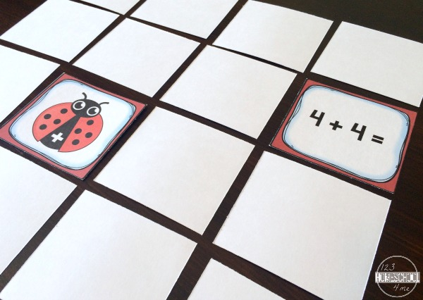 Ladybug Doubles Addition