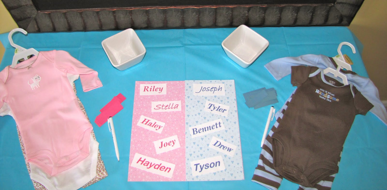 Baby Gender Reveal Party Crumbs And Chaos