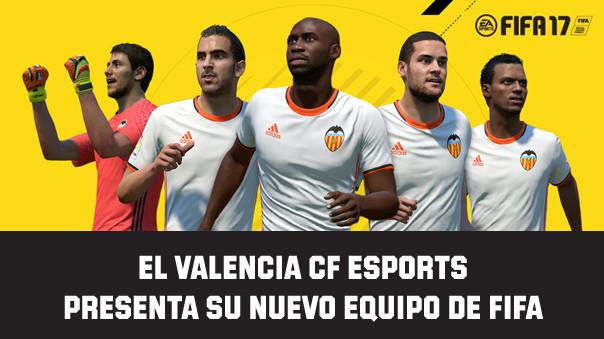 El Valencia CF eSports presenta su nuevo equipo de FIFA