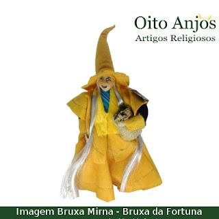 Imagem Bruxa Mirna - Bruxa da Fortuna