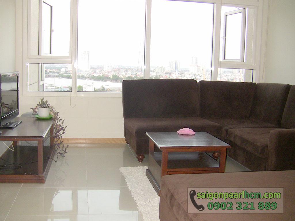 Cho thuê Saigon Pearl tòa Ruby 2 diện tích 86m2 nội thất nhập cao cấp - 4