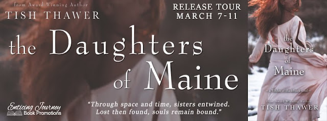 The Daughters of Maine, Tish Thawer, Witches of Blackbrook, book review, release day, On My Kindle Book Reviews
