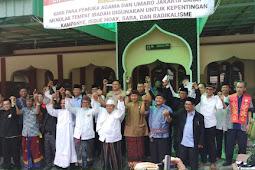 Pemilihan Presiden 2019. Warga Jakbar Tunjukan Harmonisasi Lintas Agama