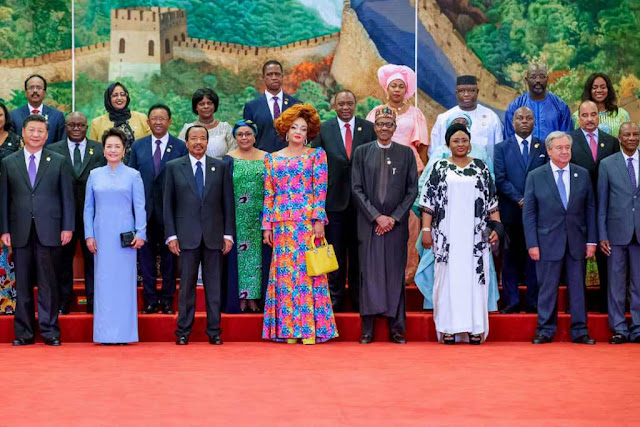 PHOTO OF THE DAY!!! The Whole Of AFRICA Is In CHINA