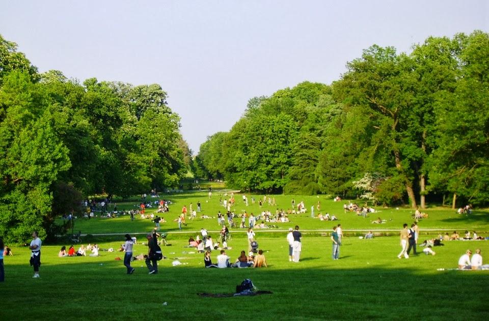 Parques em Milão Itália