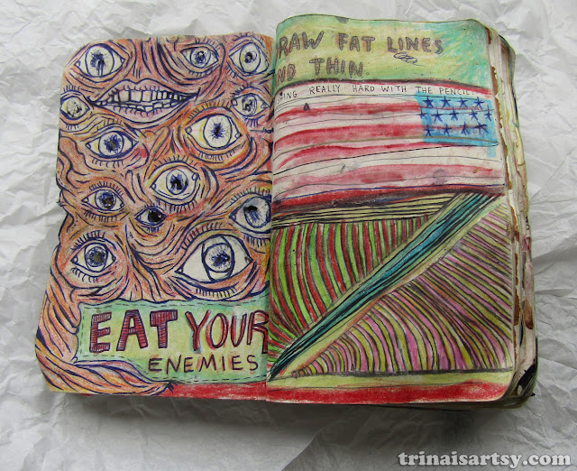 Wreck this Journal - Draw fat and thin lines... and eat your enemies