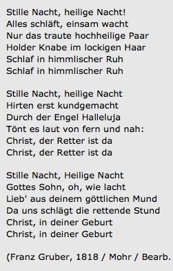 Dichter Von Stille Nacht 4 Buchstaben
