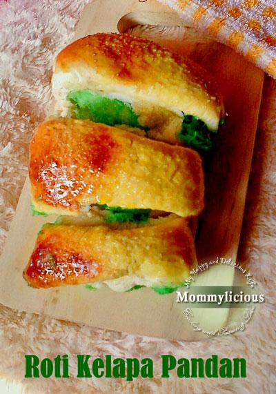 Roti Kelapa Pandan
